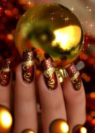 nail u2014 15 best cute u0026 amazing christmas nail art