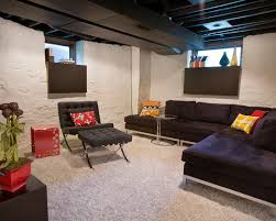 Black Ceiling Basement by I Like The Extra Large Sills Under The Small Windows They Help