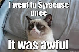 Syracuse Meme - syracuse sucks quickmeme