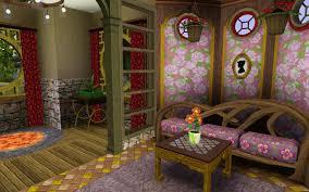 mod the sims happy mushroom fairy cottage