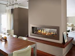 nice and intriguing fireplace and stone center designed for