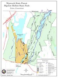 Maps Ct Wcc Trails In Woodstock Ct