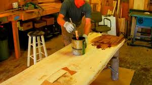 how to make a rustic table how to make a rustic plank table by jim the rustic furniture artist