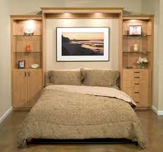 wall bed with cabinet storage hideaway beds childrens bed plans