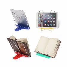 book reading stand for desk adjustable foldable portable reading book stand document holder desk