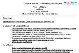 Job Objectives For Resume by Expert Resumes For Computer And Web Jobs