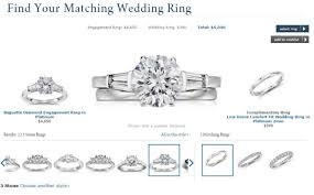 how to find a wedding band find the wedding ring to match your engagement ring