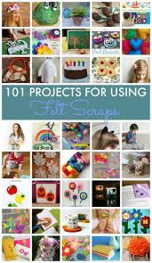 101 ideas for using felt scraps mum in the madhouse