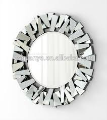 Contemporary 3d Decorative Wall Mirror Buy Round Glass