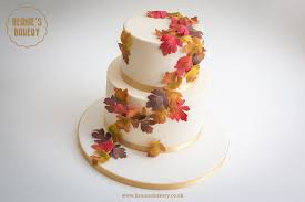 autumn wedding cake in harborne and edgbaston beanie u0027s bakery