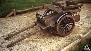 wooden cart by ahmadturk on deviantart