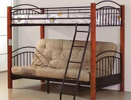 Futon Bunk Bed Wood Sleep Concepts Mattress Futon Factory Amish Rustics