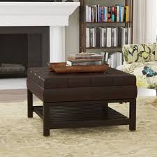 square ottomans u0026 poufs you u0027ll love wayfair