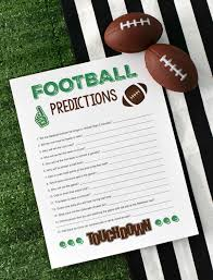What Are The Super Bowl Predictions From 14 Animals Across The - super bowl party games football predictions fun squared