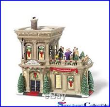 department 56 in the city retired decore