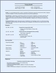 systems analyst resume systems analyst resume systems analyst