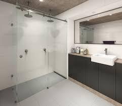 Sliding Bath Shower Screens Frameless Shower Screens Australia Glass Brisbane Pty Ltd Glass