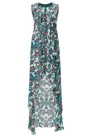 wavy mural maxi by nicole miller for 75 rent the runway