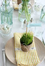 easter table favors nature inspired tables at homes and hues we rounded up some