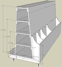 Simple Wood Storage Shelf Plans by Best 25 Lumber Storage Rack Ideas On Pinterest Wood Storage