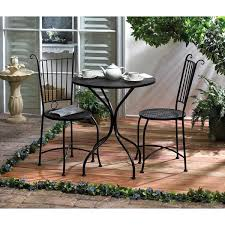 Bistro Patio Chairs Stanford 3 Outdoor Bistro Patio Set Free Shipping Today