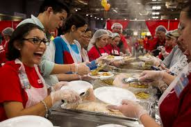 thanksgiving food bank volunteer events u0027food chains u0027 screening empty soup bowl feast of sharing