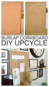 Ballard Home Decor Updated Cork Board Upholstery Classy And Home