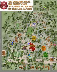 Georgia Southern Campus Map Campus Map Pine Summit Christian Camp Christian Camps In California