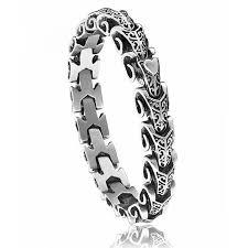 man stainless bracelet images Man stainless steel dragon police bracelet jpg