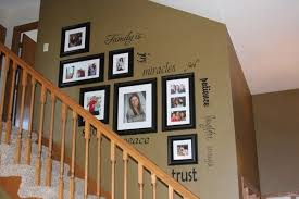 staircase wall decor ideas staircase picture frames 50 creative staircase wall decorating ideas