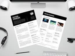 top 26 free indesign resume templates of 2017 mashtrelo
