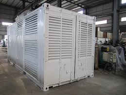 20 foot container 800kw diesel generator set for standby power