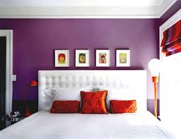 purple color on wall master bedroom ideas in purple color scheme