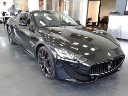 maserati granturismo convertible black 2014 maserati granturismo convertible city virginia select