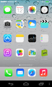ios launcher apk ios 7 launcher theme locker for android apk