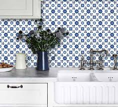 Kitchen Backsplash Decals by Cover Up Those Old Kitchen Tiles 3 Really Affordable Ideas To Try