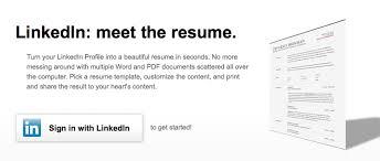 Creating A Professional Resume Linkedin U0027s New Tool Lets You Create A Professional Cv Offline