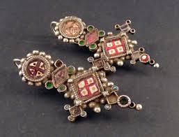gujarati earrings indian gujarati or rajasthan earrings india indian ethnic
