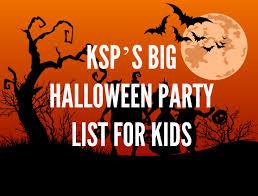 ksp u0027s big halloween party list for kids mumbai delhi bangalore