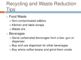 recycled and biobased disposal