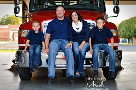 family portraits firehouse pictures fire station photography