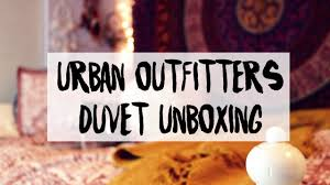 Urban Duvet Covers Urban Outfitters Duvet Cover Unboxing Marley Gemini Youtube