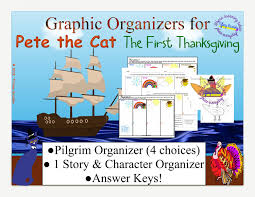 pete the cat the thanksgiving graphic organizers pdf