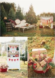 christmas tree farm engagement ideas u0026 winter wedding decor
