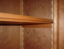 Wood Shelf Support Designs by How To Make An Adjustable Sawtooth Shelf Support System General