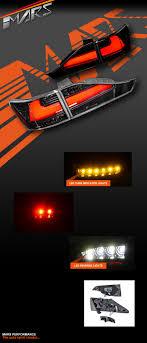 lexus indicator lights jdm black 3d stripe bar lights with led indicators for