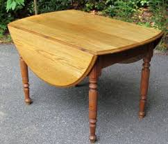 Drop Leaf Oak Table Furniture Tables 1800 1899 Antiques Browser