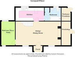 3 bedroom detached house for sale in woolsery bideford ex39