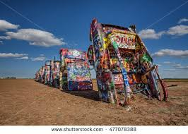 cadillac ranch carolina welcome state sign stock photo 481529074