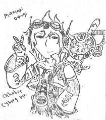 ochobot cyborg ver by dokugimurasaki on deviantart